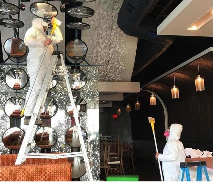 SERVPRO restores fire damage in a restaurant
