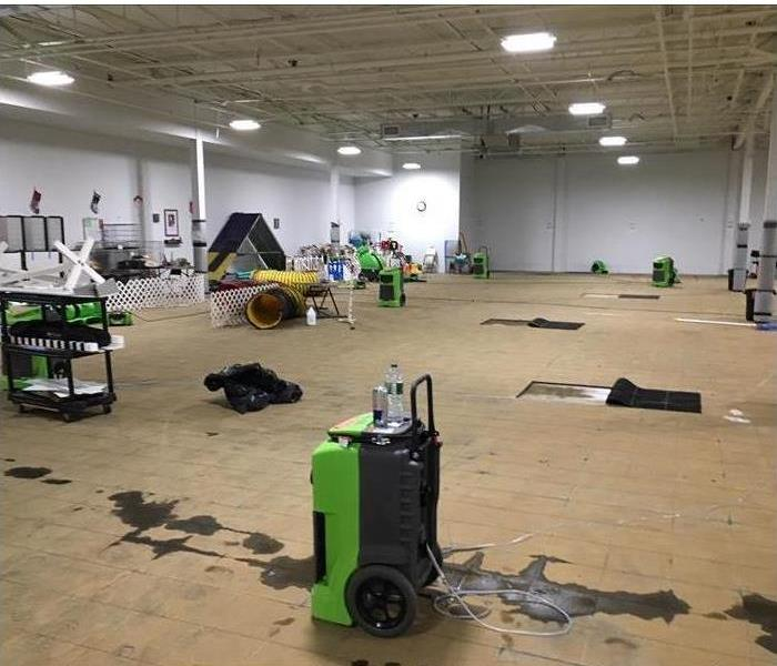 SERVPRO at work at a business